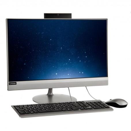 "PC AIO AMD A6 4GB / 1TB HDD Bluetooth / Wi-Fi / DVD / HDMI Windows 10 Home 22"" Lenovo"