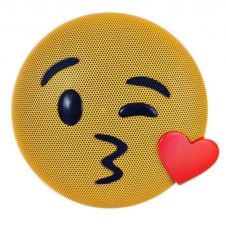 Parlante portátil Bluetooth Emoji Beso