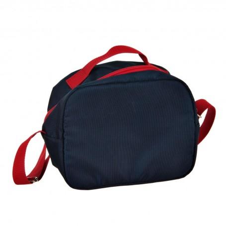 Lonchera School Azul / Rojo
