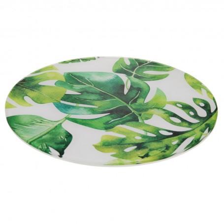 Bandeja giratoria Flores Verde