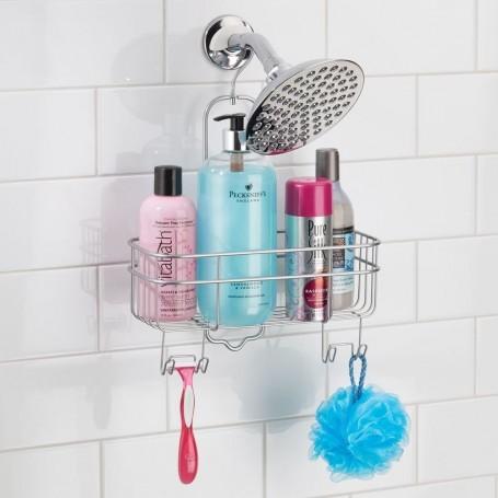 Organizador para ducha apilable Euro Silver Interdesign