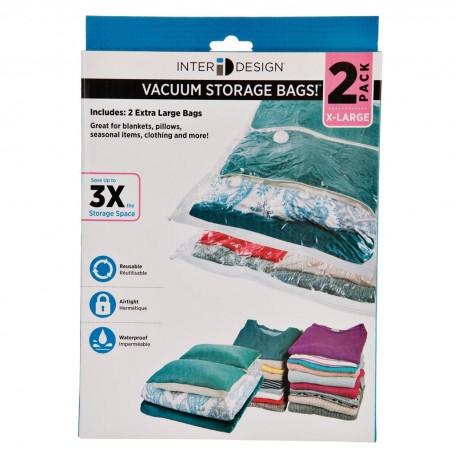Juego de 2 bolsas para empacar al vacío Interdesign