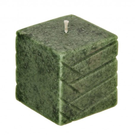 Vela Troquelada Verde Infinity