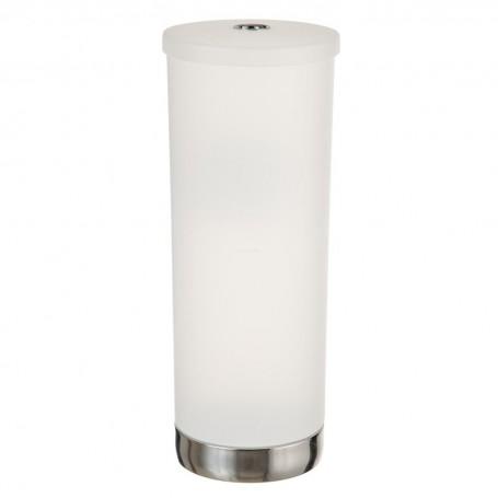 Porta papel higiénico con tapa para repuesto Frost Aria Interdesign