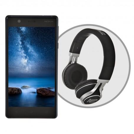 "Teléfono celular Nokia 3 CH3647 HD Quad-Core 2GB / 16GB 5"""
