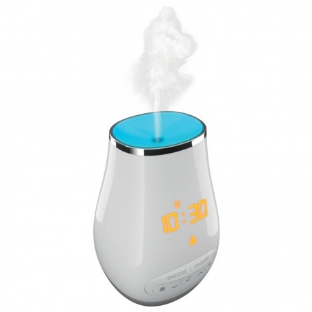 Difusor de aroma con reloj despertador / Spa / Luz / Bluetooth SS-A450 Homedics