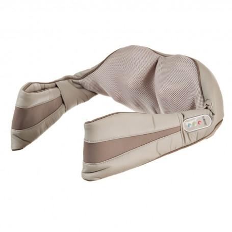 Masajeador para cuello / hombros con calor, vibración y sujetador de manos NMS-620H Homedics