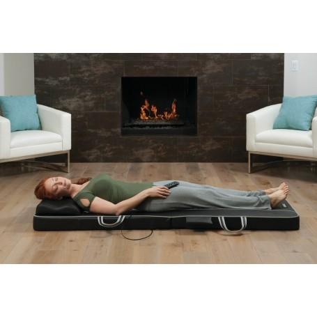 Masajeador camilla con vibración / calor / control remoto / estuche BM-SV100H Homedics