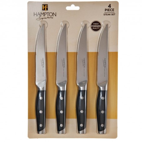 Juego de 4 cuchillos para carne Claridge Hampton Forge