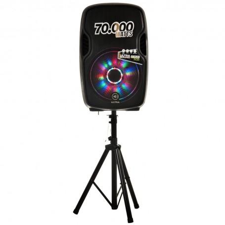 Parlante para fiesta Bluetooth / USB / Micrófono / Pedestal 70.000W S15A Sonic