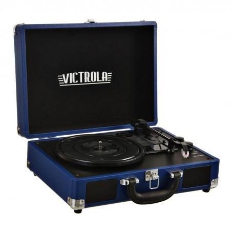 Tocadiscos portátil Bluetooth / AUX / Parlantes incorporados VSC-550BT Victrola