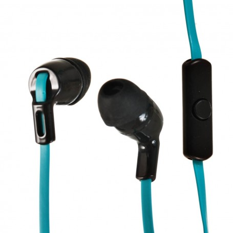 Audífonos con micrófono y cable plano Stereo Case Logic