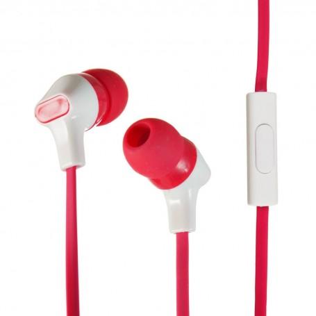 Audífonos con micrófono y cable plano Case Logic