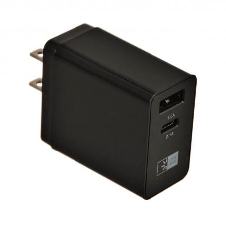 Cargador para pared USB / USB-C 3.1Amp Case Logic
