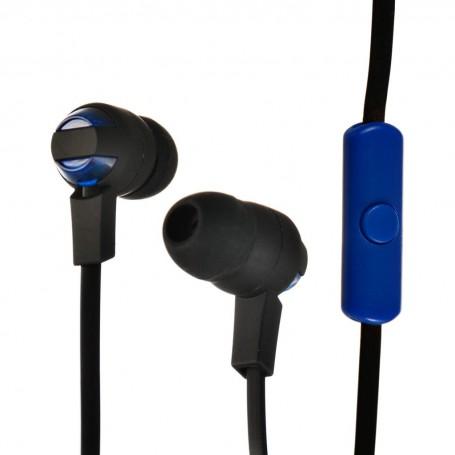 Audífonos de botón con micrófono / cable plano Case Logic