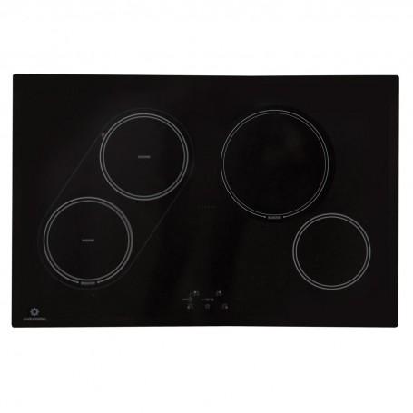 Plancha eléctrica inducción Dual Zone 7100W 4 zonas EI-4PVI80D Indurama