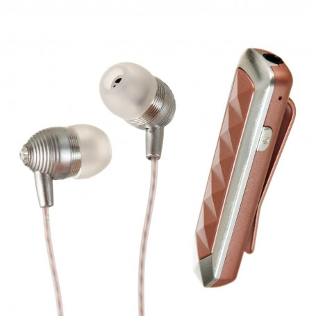 Audífonos Bluetooth con micrófono / control de audio Rose Gold Case Logic