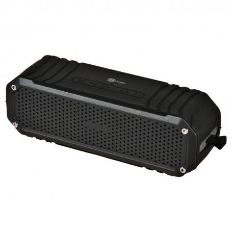 Parlante portátil Bluetooth resistente al agua con linterna 6W Case Logic