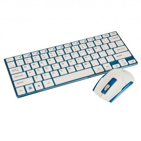 Teclado con mouse inalámbrico Case Logic