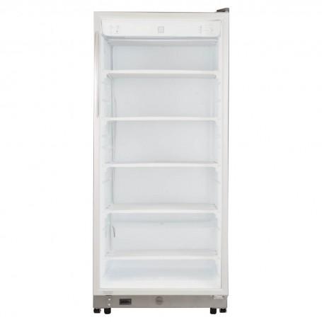 Indurama Congelador vertical con ruedad 419L CVI-520 R