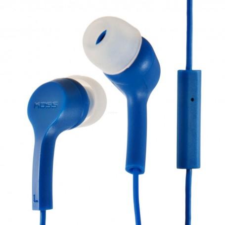 Audífonos con micrófono / cable KEB9i Koss color Azul