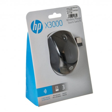Mouse wireless X3000 HP