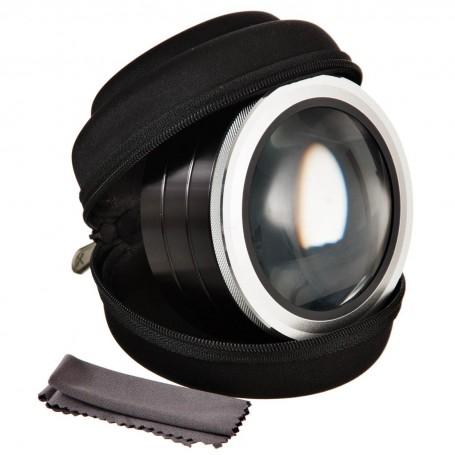 Lupa portátil con luz 5X-6.5X Zadro