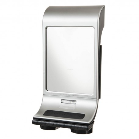 Espejo para ducha antiempaño con luz LED / Bluetooth / Radio FM Zadro