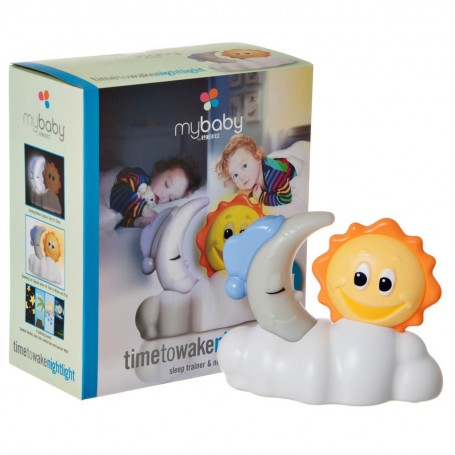 Spa sonido para bebé con 4 sonidos y luz nocturna a pilas / adaptador  Sol / Luna Homedics