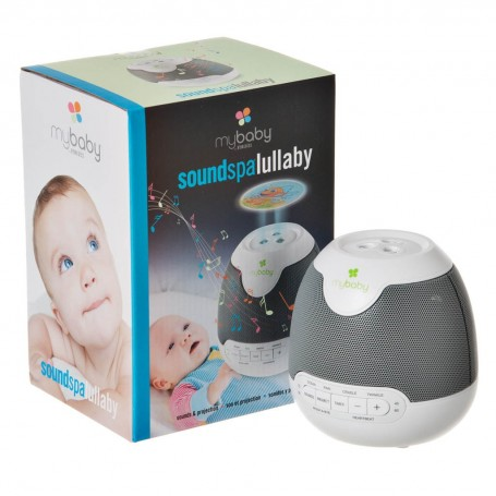 Spa sonido para bebé con proyector, 6 sonidos y 9 imágenes Homedics