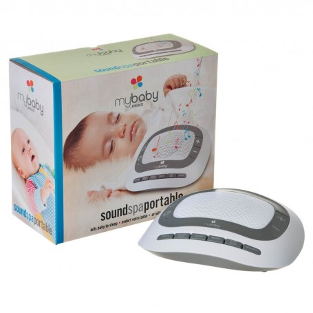 Spa sonido para bebé con 6 sonidos Homedics