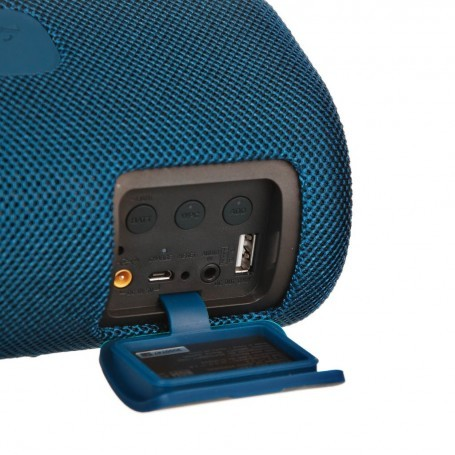 Sony Parlante portátil Bluetooth color Celeste / NFC resistente al agua IP67 SRS-XB41