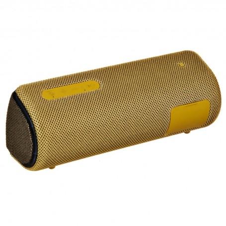 Sony Parlante portátil Bluetooth color Amarillo / NFC resistente al agua IP67 SRS-XB31