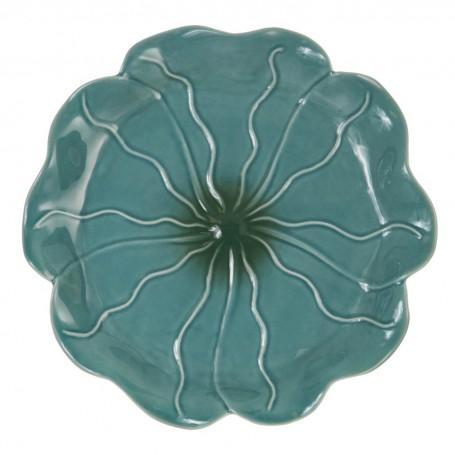 Plato para pan Lotus Turquesa Haus