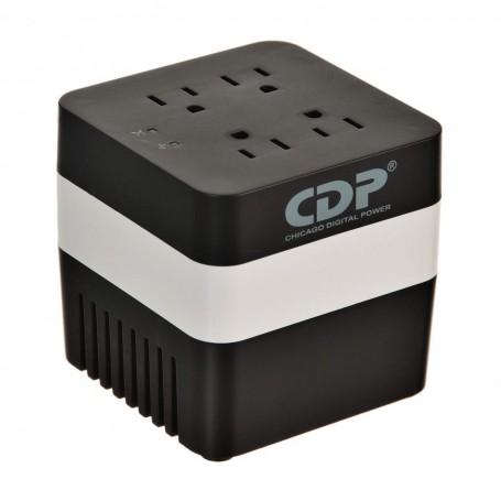 Regulador de voltaje 600VA 4 tomas / 4 USB Chicago Digital Power