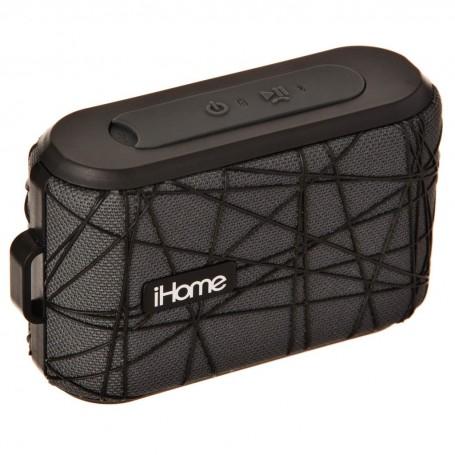 Parlante portátil Bluetooth / Resistente al agua / Control de voz IBT370GB iHome