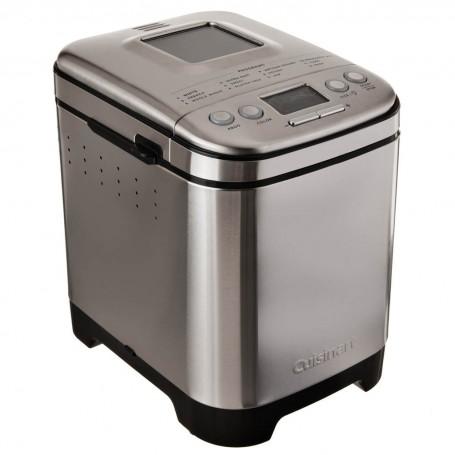 Cuisinart Máquina para hacer pan con 12 opciones y tapa transparente 2lbs / 550W CBK-110