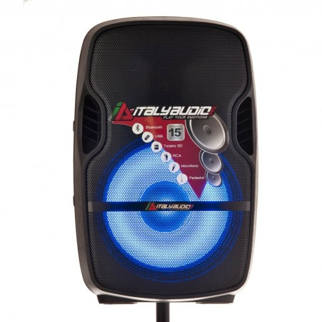 "Parlante para fiesta Bluetooth / Radio FM / USB 15"" 250W-RMS Sono Italy"