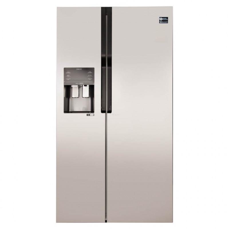 Samsung Refrigerador Side by Side con dispensador y panel digital 20' 558L RS51K5460SL
