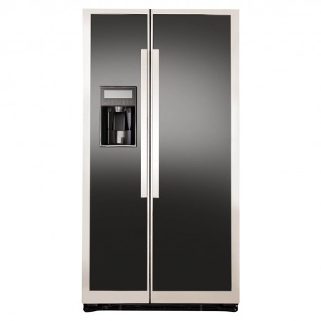 GE Refrigerador Side by Side No Frost con dispensador 542 L 23' PNL23FFKFBN