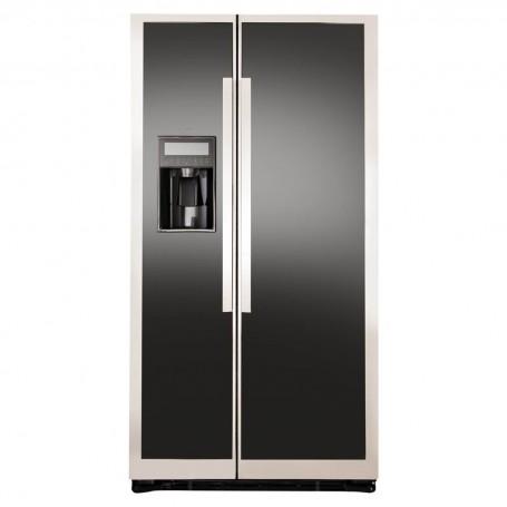 GE Refrigerador Side by Side No Frost con dispensador 542 L 23' PNL23FFKFBN