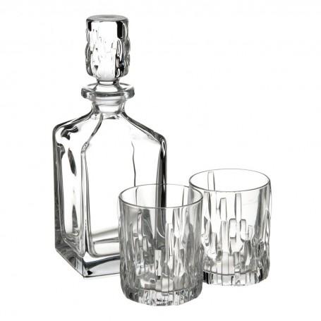 Juego de botella para licor y vasos Shu Fa Nachtmann