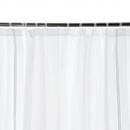 Cortina de baño Line 100% algodón Haus