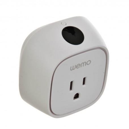 Conector inteligente para pared con control de consumo de energía Wi-Fi Belkin