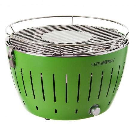 BBQ pequeño a carbón encendido rápido con ventilador y estuche LotusGrill