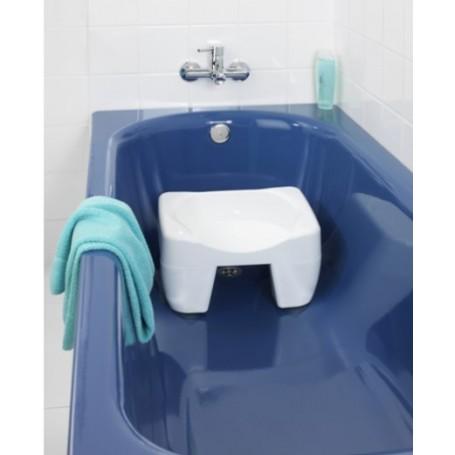 Taburete con antideslizante para baño Secura Wenko