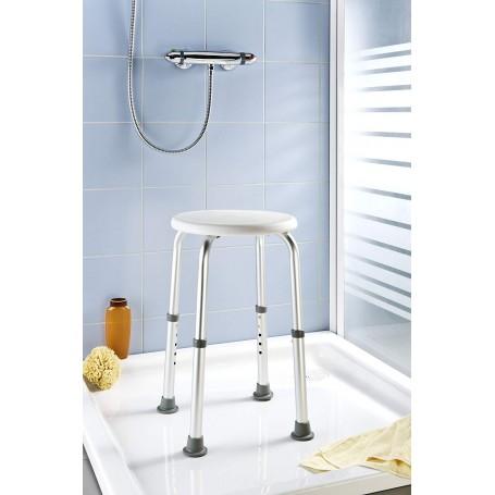 Taburete con altura ajustable para ducha Secura Wenko