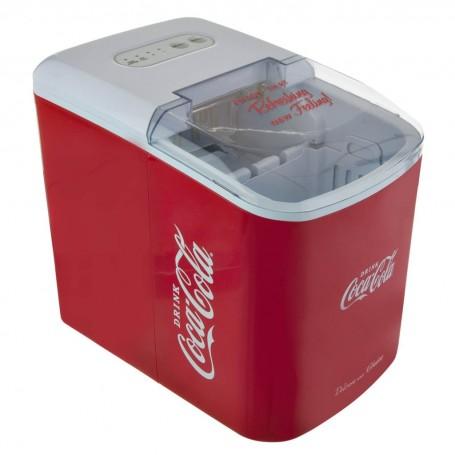 Máquina para hielo con luz LED Coca-Cola 26lbs 120W Nostalgia