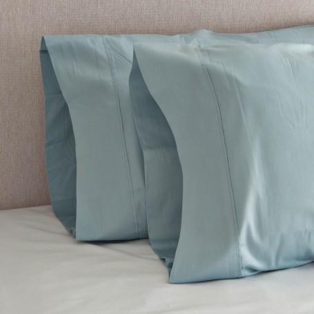 Juego de 2 fundas para almohada Basic 300 hilos 100% Algodón Haus