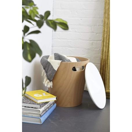 Hamper / Mesa de madera Umbra